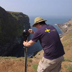 Bosch rugged MIC cameras keep a watchful eye on wildlife at the Scottish Seabird Centre