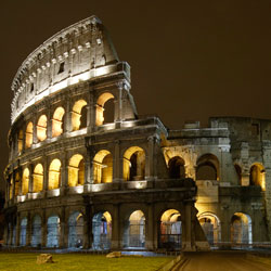 Canon helps maintain a high level of security at the Roman Colosseum