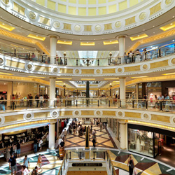 Shopping centre Euroma2 selects Honeywell digital video surveillance with Fusion digital video recorder and ACUIX™ domes