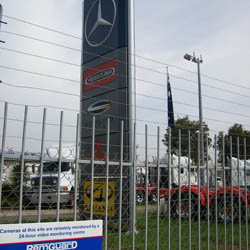 RemGuard's remote monitoring solution fights crime at Australian truck dealership