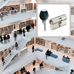 ASSA ABLOY supplies the security technology behind impressive architecture for new central library in Stuttgart