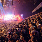 Nedap's AEOS system ensures public security at Ziggo Dome in Amsterdam, Netherlands