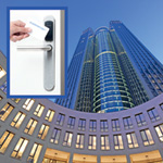 Frankfurt's Tower 185 skyscraper chooses flexible wireless access control over mechanical keys