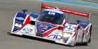 AD Group's CEO Mike Newton on the podium in Le Mans series opener
