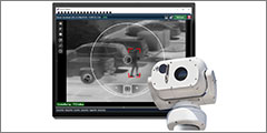 PureTech PureActiv surveillance solution integrated with Silent Sentinel's Aeron Searcher Thermal Camera