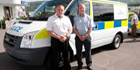 TSS supplies PatrolVu 100 mobile CCTV to Ford SVP for cell van demonstrator