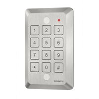 Everswitch 3x4 Stand Alone Single Door Access control reader