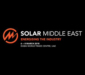 Solar Middle East 2018