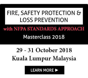 Fire, Safety Protection and Loss Prevention with NFPA Standards 2018