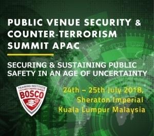 Public Venue Security & Counter- Terrorism Summit APAC 2018
