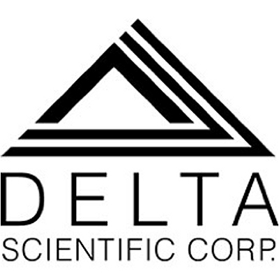 Delta Scientific VK612 Glass to Glass Corner Booth