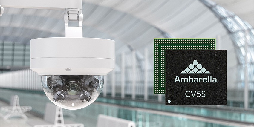 Ambarella's new CV5S and CV52S SoCs truly allow the industry to take advantage of higher resolution on-camera for better analytics and wider coverage.