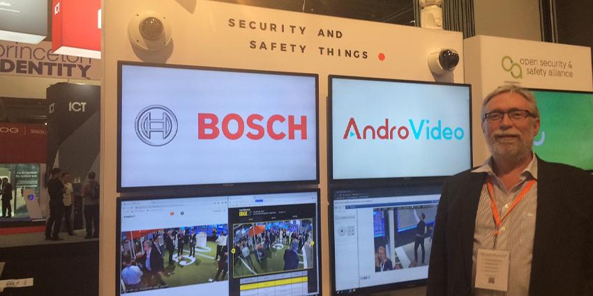 the biggest news is perhaps the possible long-term impact of first-time exhibitor Security and Safety Things (SAST), a Bosch startup.