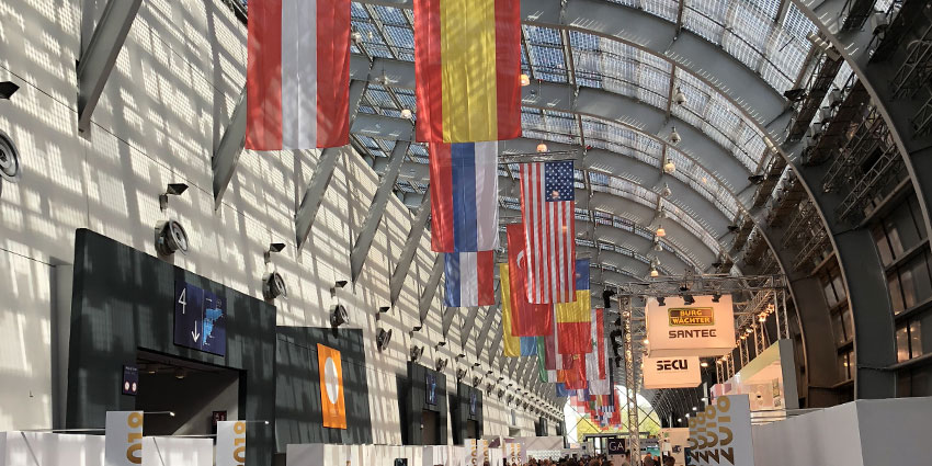 Security Essen attracted more than 36,000 professional visitors including experts from industry and installers