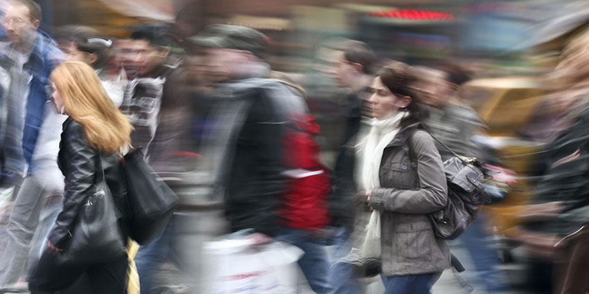 Video analytics can be programmed to alert on people counting