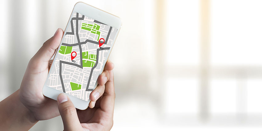 GPS location for smartphone access control