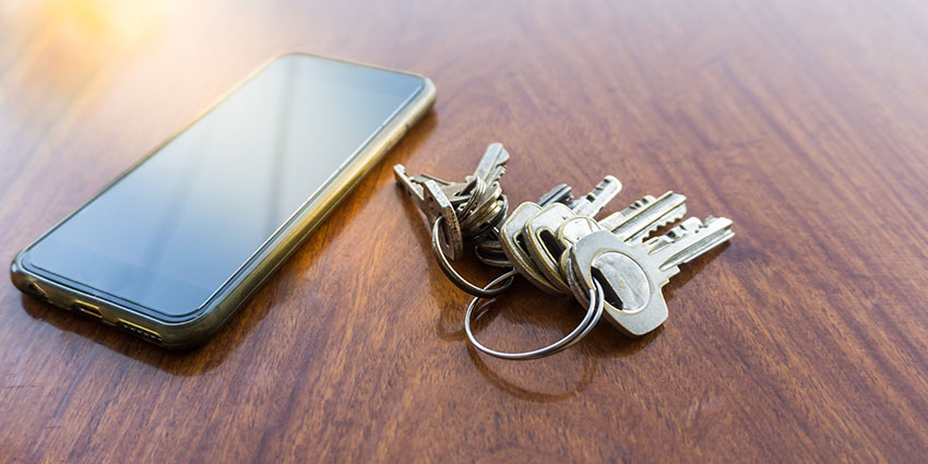 Fear of losing keys and having to constantly swap out hardware can become a thing of the past