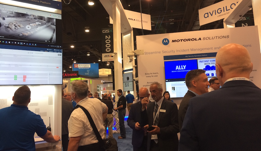 In addition to signage, ownership by Motorola is also impacting the Avigilon product offerings