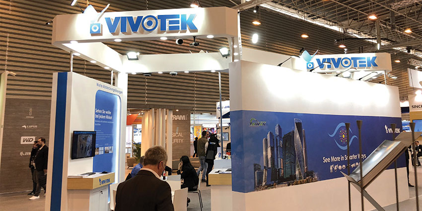 VIVOTEK demonstrated its latest deep learning technology for crowd detection applications