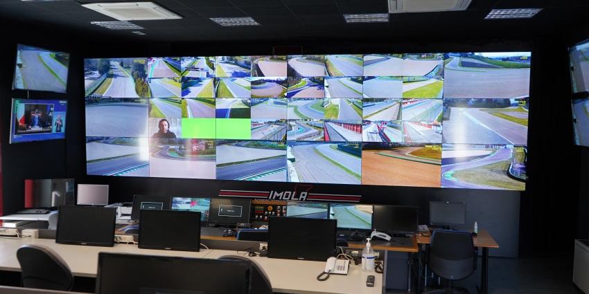 Dahua Technology successfully delivered the new CCTV camera system of Autodromo Enzo e Dino Ferrari di Imola