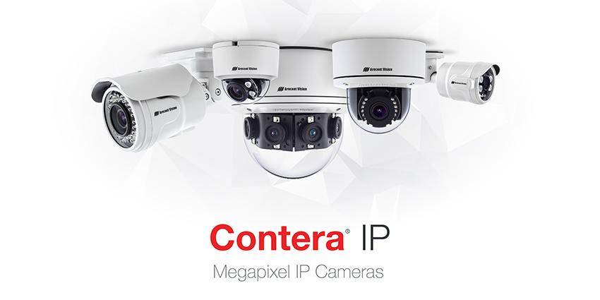 Arecont Vision Contera video surveillance cameras