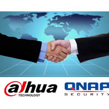 Dahua and Qnap logos