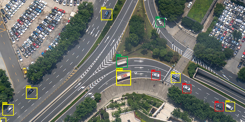 A city could, for instance, analyse the most accident-prone local intersection and assess the traffic patterns