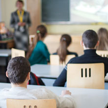 students in classrooms