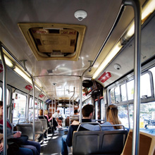 Sony introduced a series of IP cameras rated for use on board buses and trains
