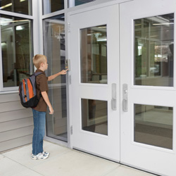 Many school administrators now realise that campus security begins at the main entrance