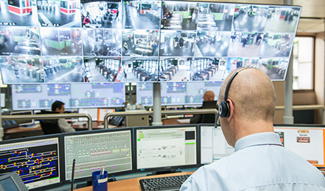 Command centres conventionally focus on video systems and access control