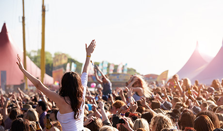 Festivals require security in both human and hardware forms, with most successful festival security coming from a combination of the two