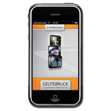 G WalknView is an application for DVRs from Geutebruck