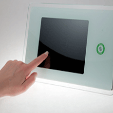 Idesco's Access Touch product contains an integrated RFID reader module