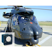 Missile Launch Detection System is a passive imaging sensor, detecting the UV radiation signature of approaching missiles