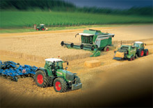 The Fendt brothers first began manufacturing tractors at the start of last century