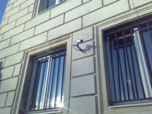 The official building where the Mayor of Sofia works is under security surveillance of ACTi