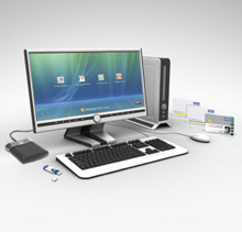 HID on the Desktop ™, a powerful set of logical access control solutions