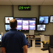 Knight Security Systems can monitor the status of the sheriff's cameras and immediately notify the client of a camera outage