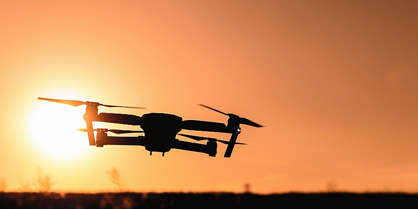 The use of unmanned aerial vehicles (drones) has garnered a great deal of attention