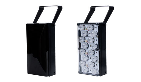 Another advantage of stand-alone illuminators is that they capture light at longer distances