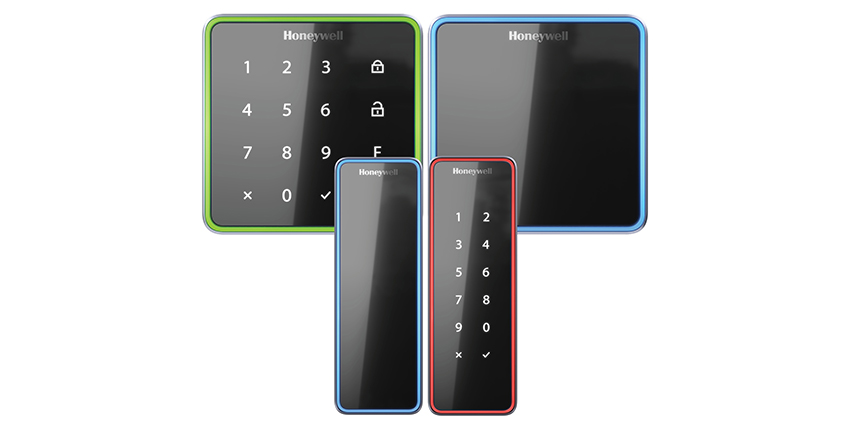 Honeywell's OmniAssure Touch is a mobile credential-enabled access control reader