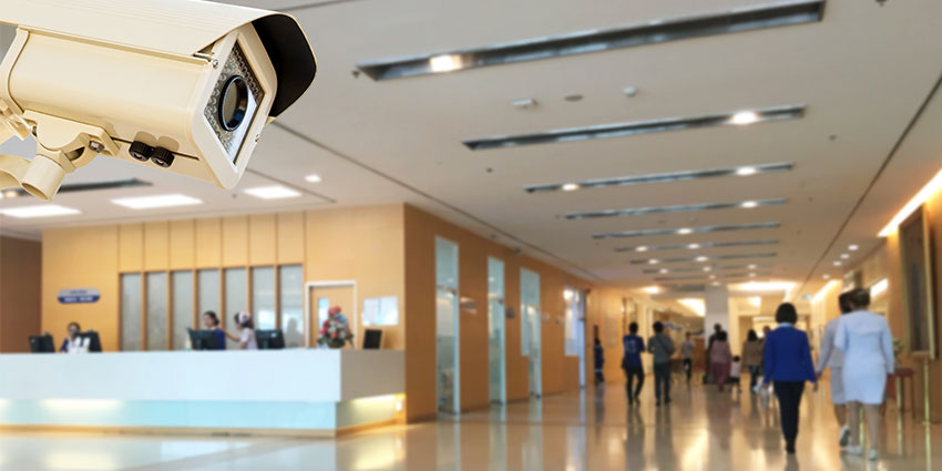 Hospital CCTV system