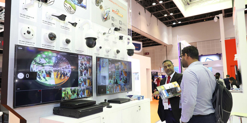 Commercial Security is the largest section at Intersec 2018