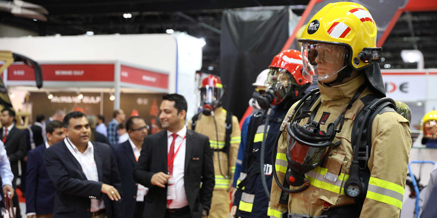 Fire & Rescue forms a large section of Intersec Dubai