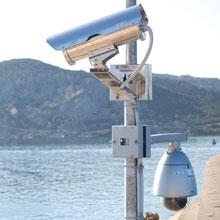 Videotec camera in Sardinia