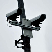 Mounted 3D cameras