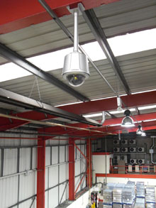 The A.F. Blakemore & Son distribution centre needed an upgraded security system