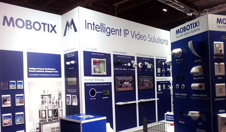 MOBOTIX stand at IFSEC 2017