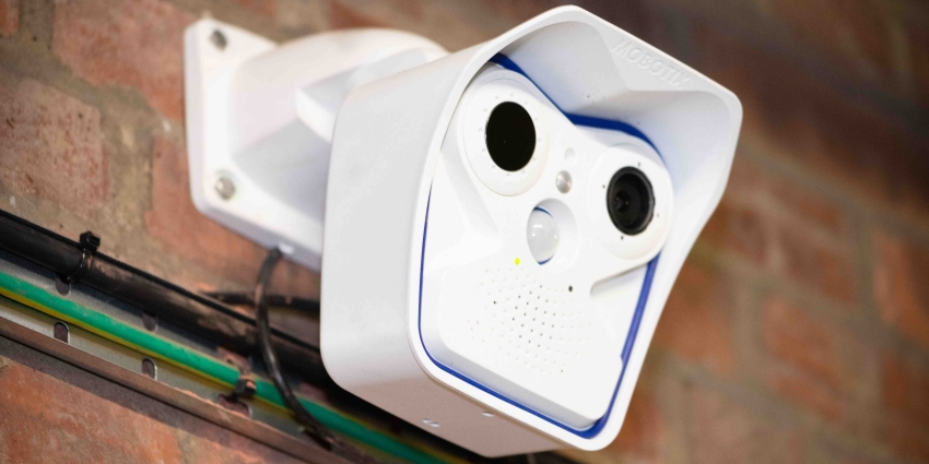 OpenView Security designed and installed an early fire detection system using MOBOTIX dual M16 thermal cameras